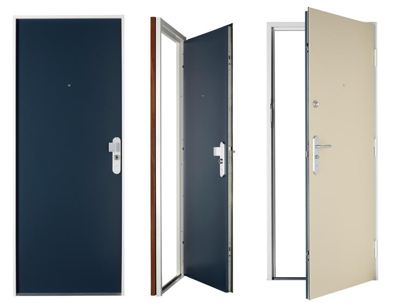 Porte blind e d 39 appartement bloc porte blind protecdoor marseille 13 - Portes palieres appartements ...